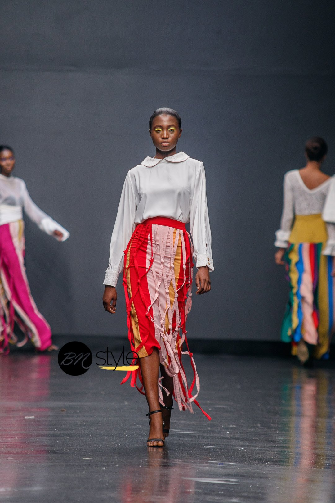 Valerie at LFW Sisiano