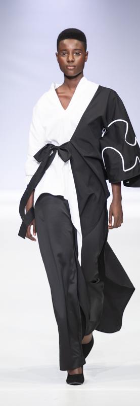Sarah at SAFW for Judith-Atelier-